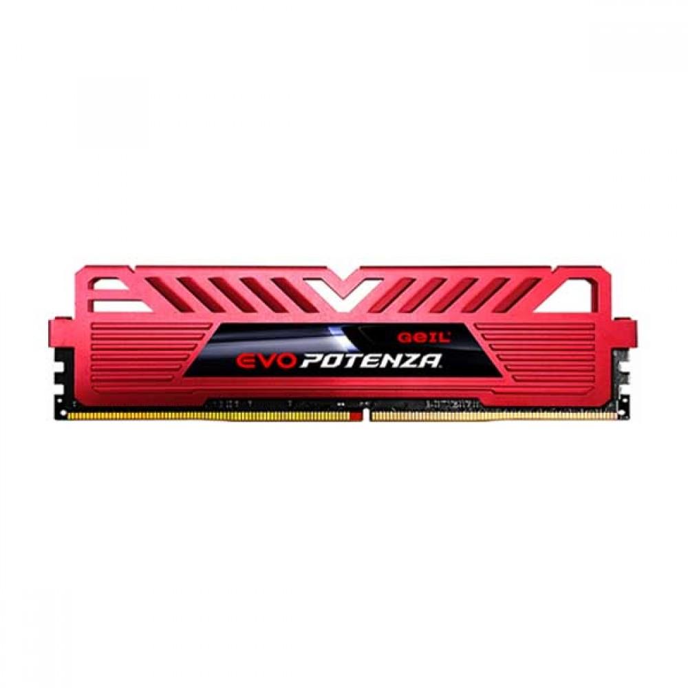 رم ژل مدل RAM GEIL POTENZA DDR4 2400MHz-4GB
